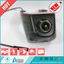 wifi camera/ hidden rear view backup camera car black box with 1296P/ 1080P sony chips IMX322 car dvr wifi mobile app for car