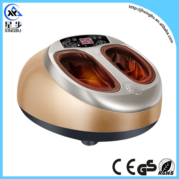 4D Shiatsu Rolling Acupressure Air Bag Electric Foot Massage Machine With Heating