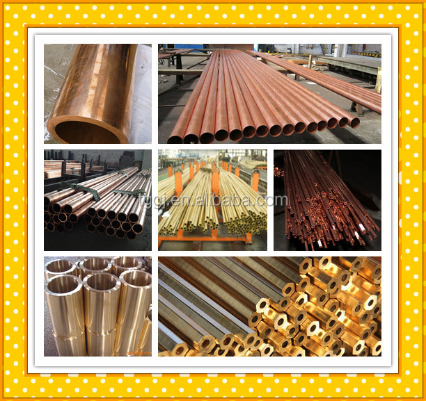 High quality JIS H3300 copper tube/pipe China Supplier