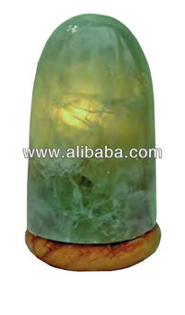 Green Calcite lamp