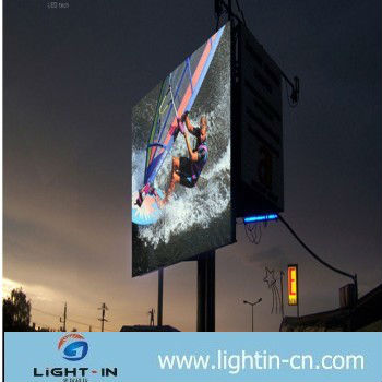 Full Color Outdoor P16 led advertising display/watch live cricket online led display screen