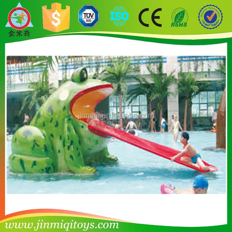 Piscine toboggan piscine aire de jeux en plastique for Piscine en plastique