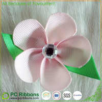 creative 2.5'' flower bow idea with alligator at back