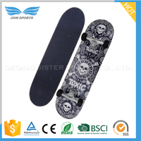 Top Quality 9 Ply China Maple Wood Skateboard with Heat Transfer