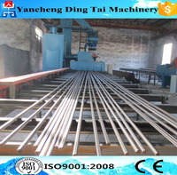 Deformed steel bar shot blasting machine/blasting equipment/shot blasting machine price
