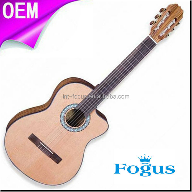 "Manhogany Neck 39"" Classical Guitar (FCG-172C)"