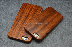 Natural Real Bamboo Wooden Back Case Cover For Iphone 6