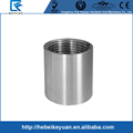 "2"" Stainless Steel Pipe Fittings Female x Female Threaded Pipe Fitting Socket Adaptor"