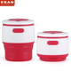 Best quality takeaway inflatable silicone rubber drinking coffee cup