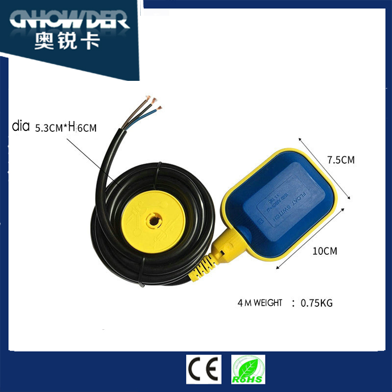 IP68 water tank level float switch with ball body