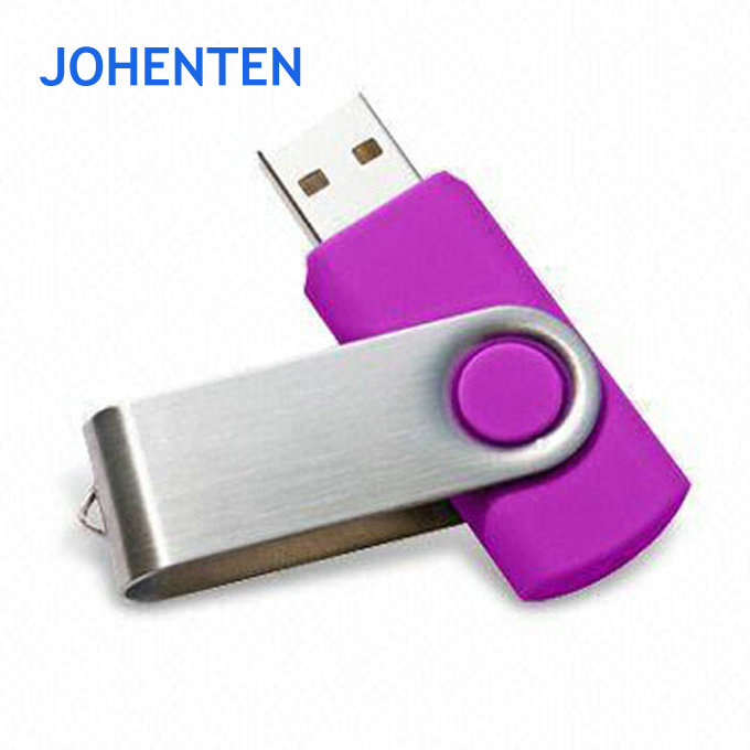 Business Credit Card swivel mould usb flash drive