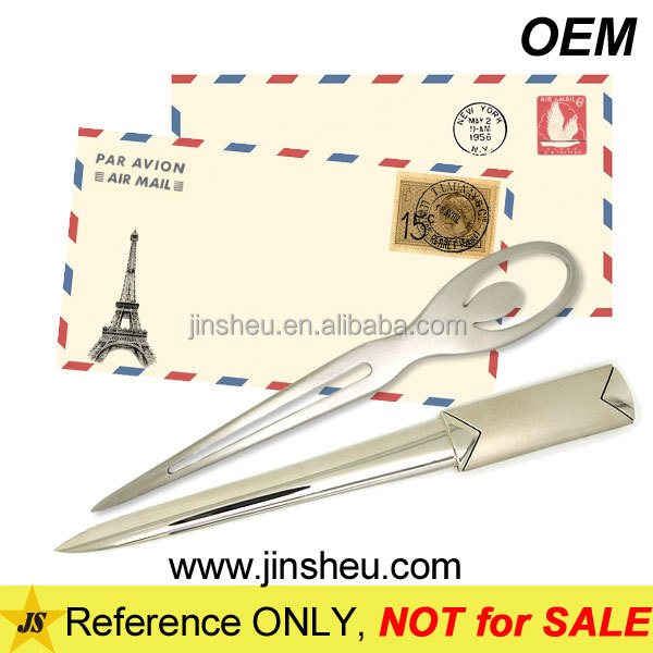 China Manufacturer Wholesale Cheap Custom Metal Manual Letter Opener