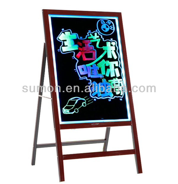 Small LED Writing Board/ Electronic Advertising Board with Holder