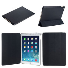wholesale quality leather stand phone case for ipad air 2