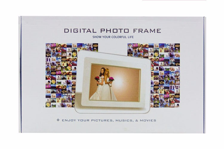 7 Inch Mini Wholesale Stand Digital Photo Frame - Buy Digital Photo ...