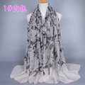Wholesale voile cotton muslim hijab shawls islamic scarves/scarf GBS224