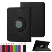 360 Rotating Stand Flip PU Leather Smart Tablet Cover Case For Samsung Galaxy Tab S2 8.0 T715