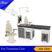 New type medical ent diagnostic set equipment operating.
