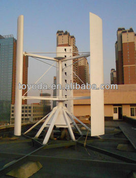 aluminum alloy vertical wind turbine vanes