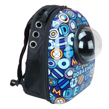 Bubble Window Pet Bag Space Capsule Shaped Pet Carrier Breathable Backpack for Pets