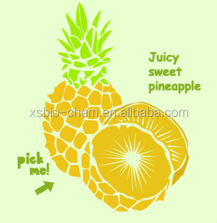 GMP Natural High Quality Pineapple Powder/Pineapple fruit Powder/Pineapple Flavor