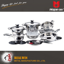wholesale china factory stainless steel kitchenware and cookware , cookware pan , Cookware sets