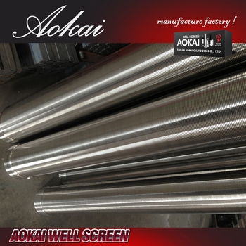 sand separator perforated metal pipe SS316L with great price