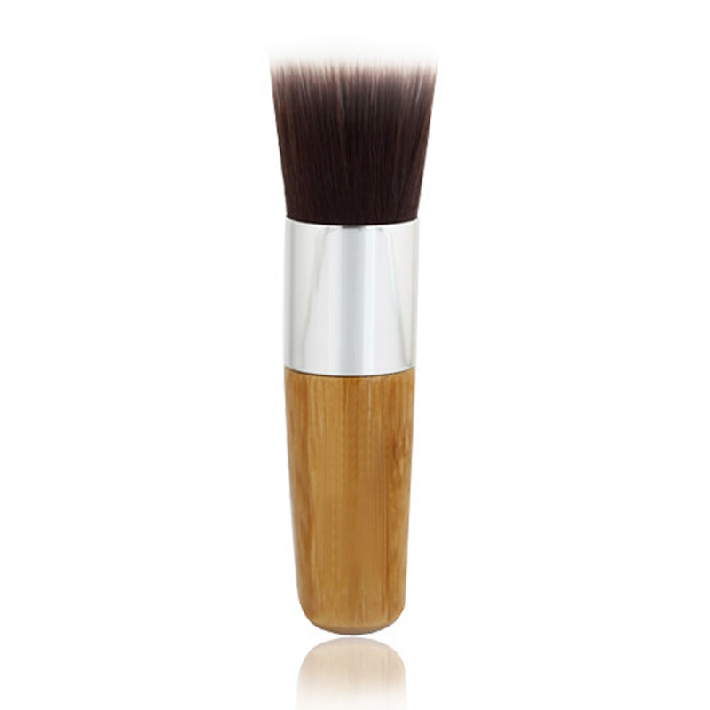 Britles brush <strong>Face</strong> Use and Flat brush Style long handle makeup brush