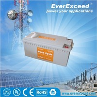 EverExceed solar gel battery