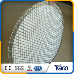 Aluminum Stainless Steel Round Expanded Screen Pizza Screens