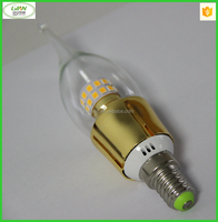 Candle Lights Type and Warm White Color Temperature(CCT)Smart Led Light Bulbindoor led candle bulb candle light