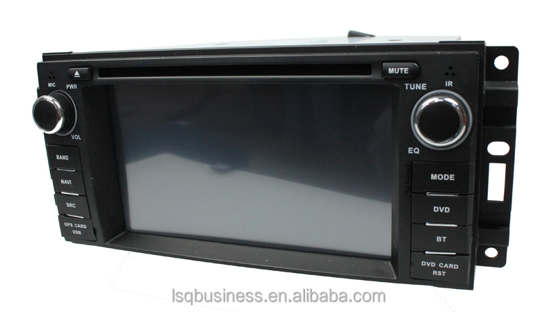 high quality car dvd player multimedia for CHRYSLER 300C/DODGE/Jeep Commander with gps/radio/ipod on-sale!hot!drive your life!