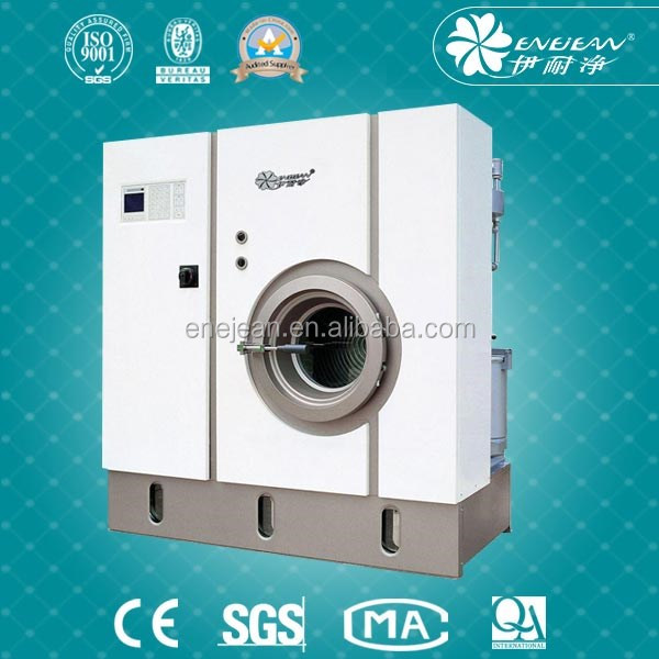 Professional auto 12kg dry cleaning machine for garments 10kg professional commercial laundry dry cleaning equipment