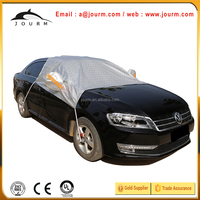 inflatable auto car cover aluminum foiled half cover for car