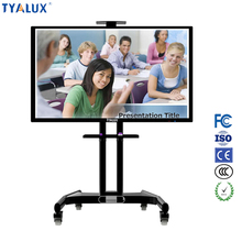 Infrared finger multi touch screen interactive whiteboard computer all in one