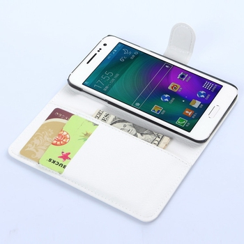 Low price promotional for samsung a3 leather phone case