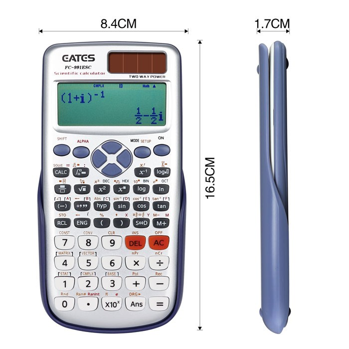 991 ES High Quality Scientific Calculator with 417 Functions