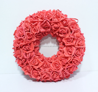 High Quality Artificial Decoration Flower Funeral Wreath