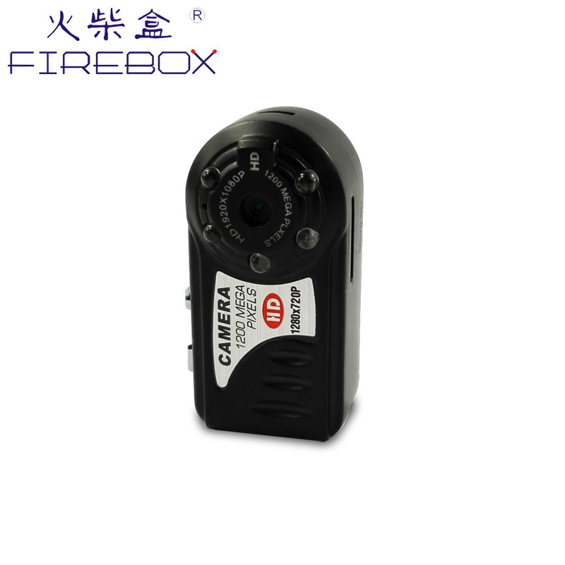 Factory hot selling portable Mini DV infrared night vision Q5 hidden spy mini camera