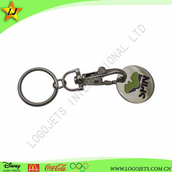 promotional gift aluminum metal key ring