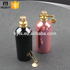 wholesale custom made empty new design aluminium spray bottle