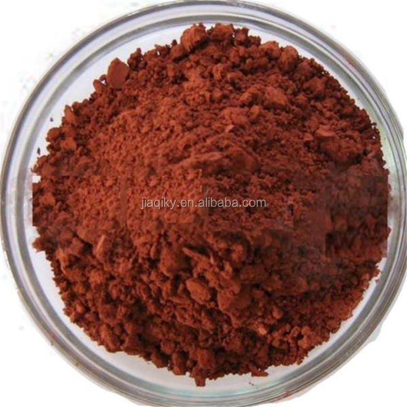 High grade micronized red iron oxide price low