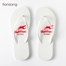 Hot sale 2019 personalization slippers custom print sublimation blanks popular white flip flops