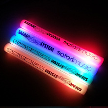 customized logo led foam stick led foam baton glow stick for wedding party