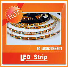 SMD3528 60 120 240 360 leds/meter LED Flexible Strip Light 12VDC or 24VDC with CE Rohs Approved