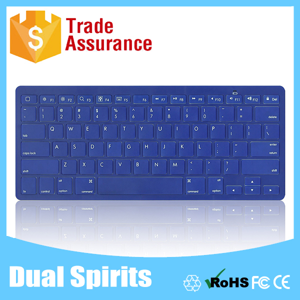 best selling products 2015 blue color bluetooth keyboard for Ipad air 2