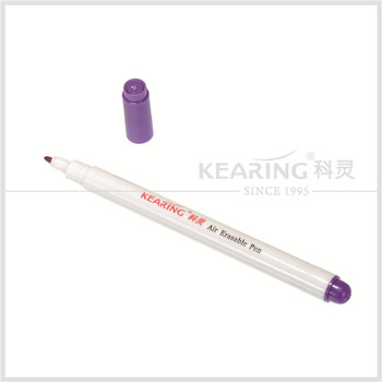 Air erasable pen - violet erasable marker for sew fabric temporary marking # AV10
