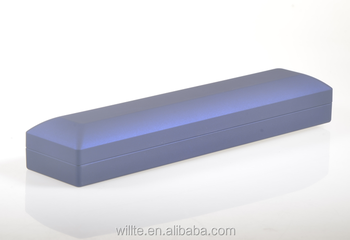 New design oblong box for necklace with luxury LED light