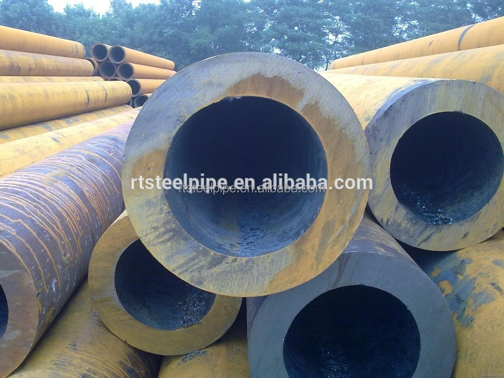 Large diameter sch low carbon seamless steel pipe tube