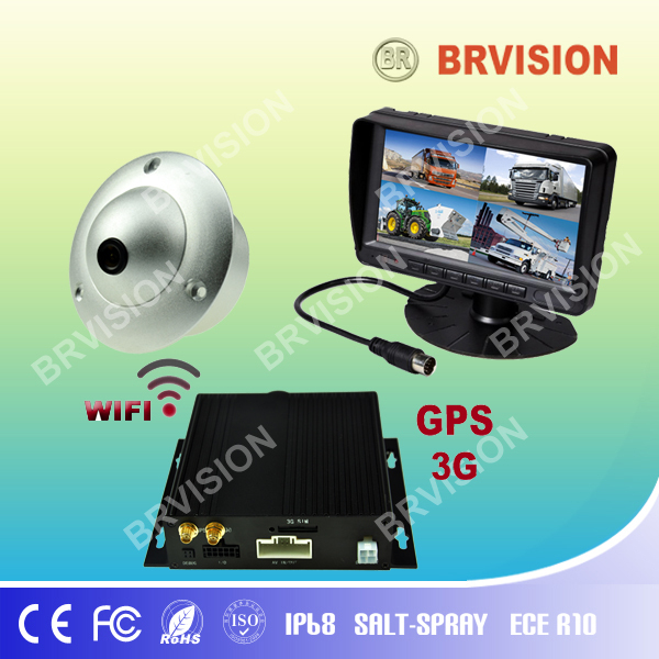 rearview mirror car monitor with 7 tft lcd for Refuse Trcuk